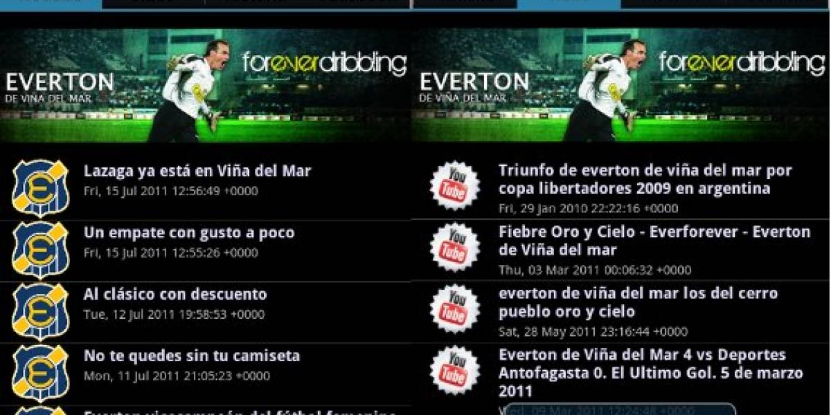 App de Everton para Android ya está disponible