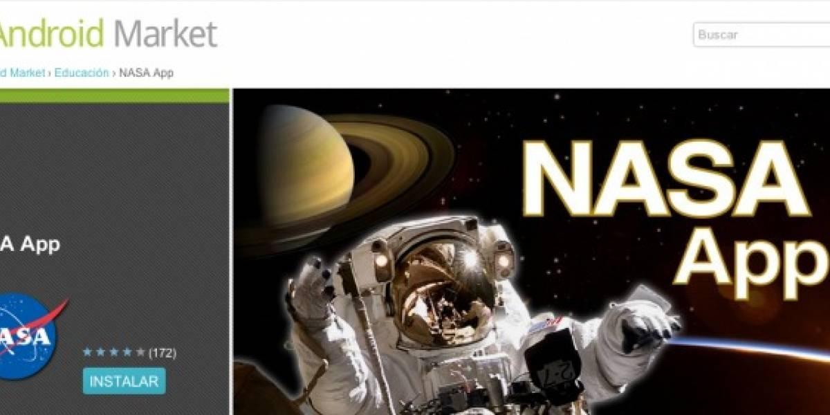 La NASA tiene aplicación oficial para Android