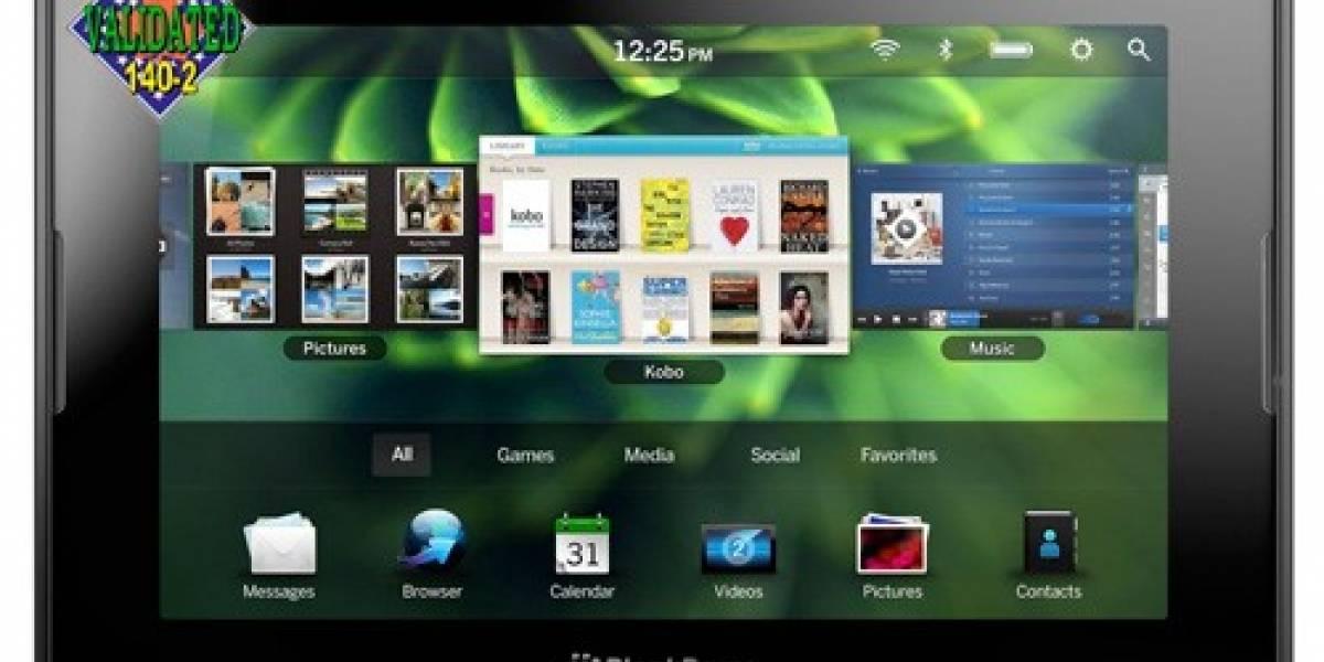 Playbook, primer tablet en lograr certificación para ser usado por el gobierno de EE. UU.