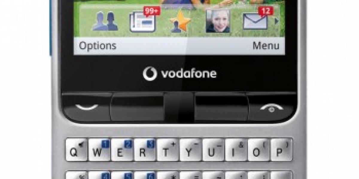 España: Vodafone lanza el equipo Blue 555, su móvil-Facebook