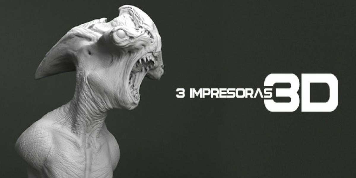 Tres impresoras 3D que marcan el rumbo en el futuro de esta tecnología