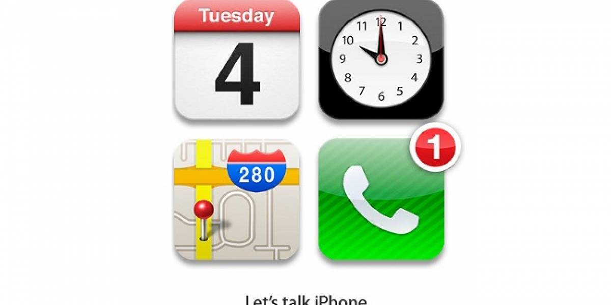Es oficial: El evento de lanzamiento del iPhone 5 será el 4 de octubre