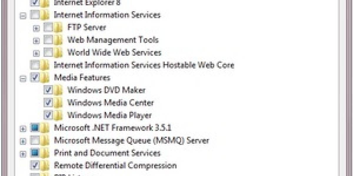 Microsoft confirma que IE 8 y otras aplicaciones se podrán desinstalar de Windows 7