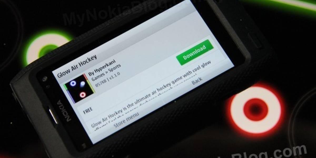 Glow Air Hockey, sólo hoy gratis para tu Symbian