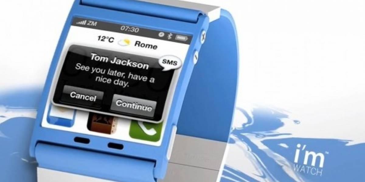 I´m Watch, el smartwatch androide, ya tiene fecha de lanzamiento: el 31 de octubre