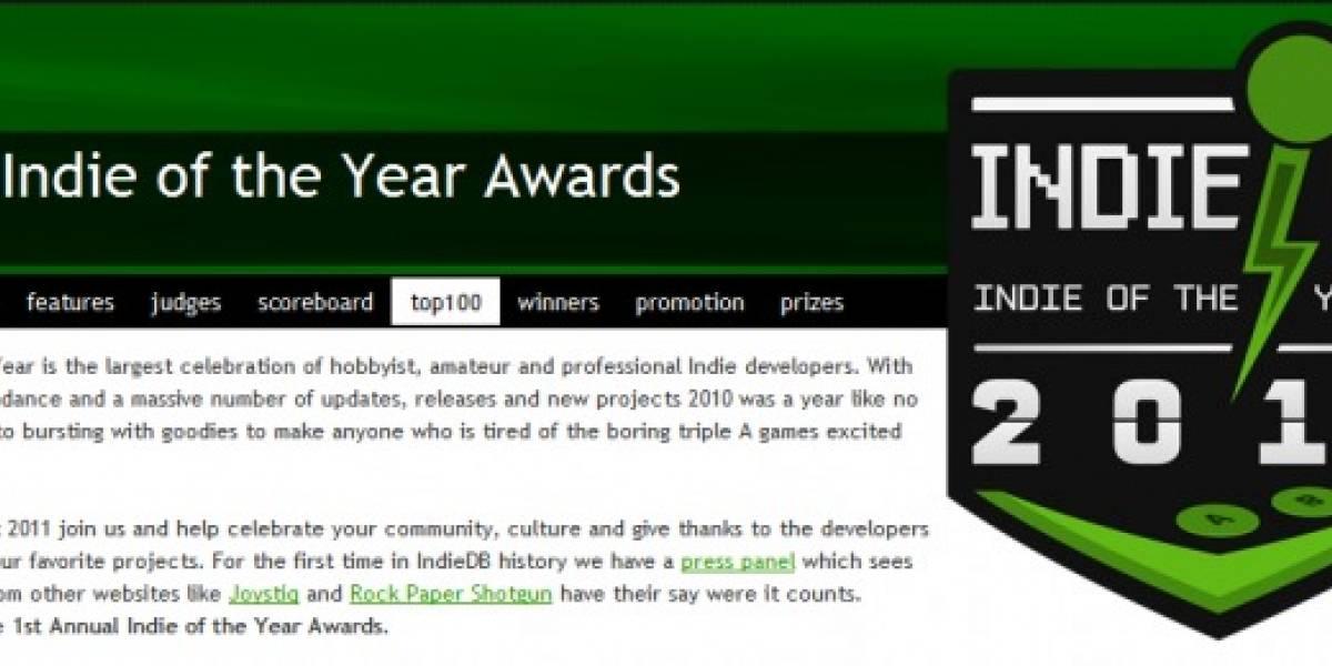 Vota por tu juego indie favorito del 2010