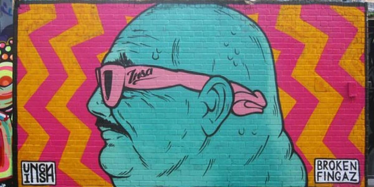 GIF-iti, el arte callejero que sólo puedes ver online