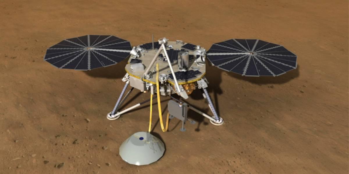 NASA anuncia una nueva misión a Marte para explorar debajo de la superficie