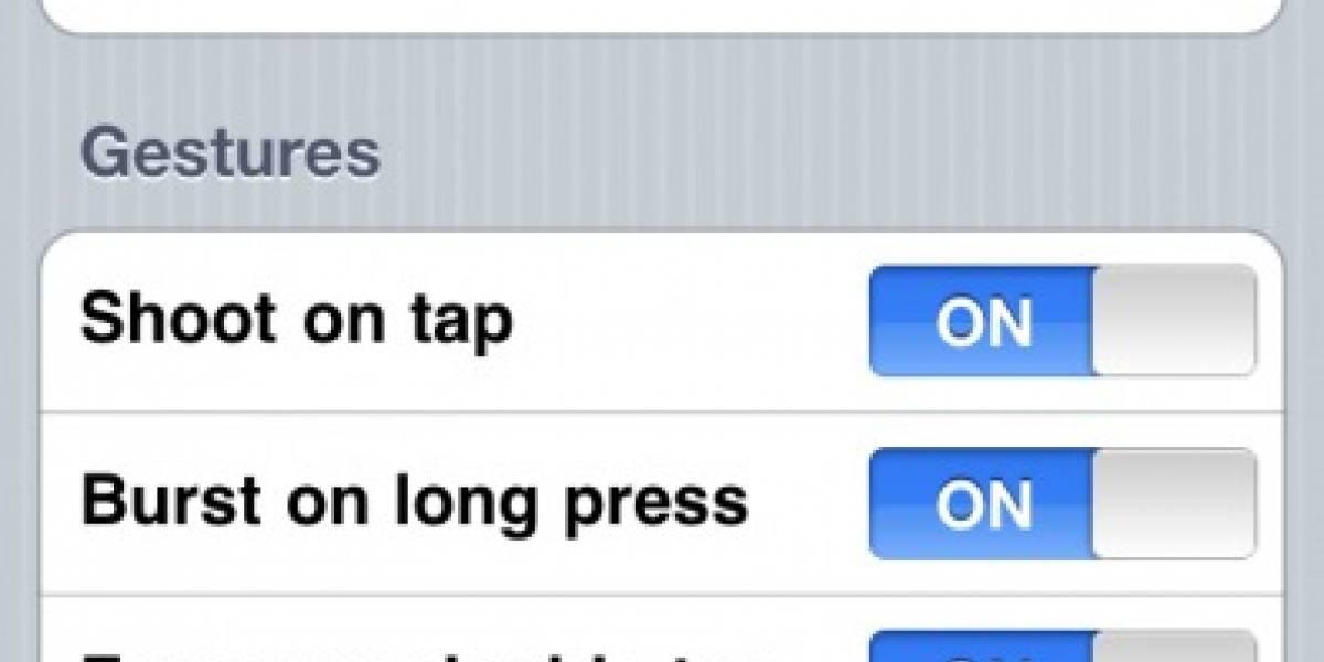 InstaCam lleva la velocidad a la cámara de tu iPhone