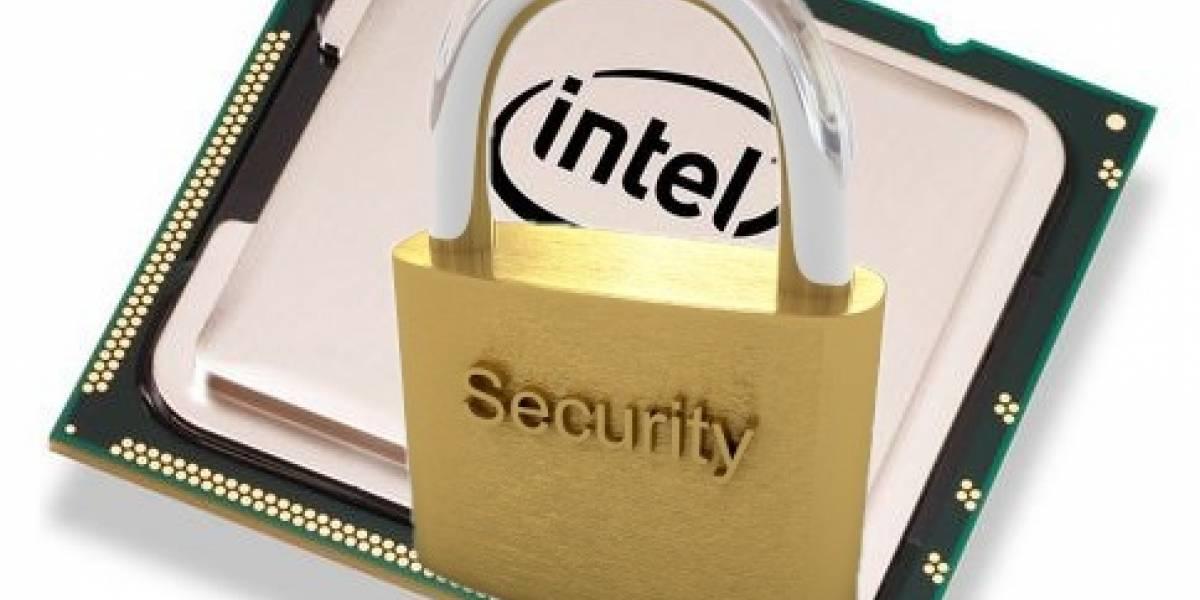 Intel pondrá sistema de DRM en sus chips