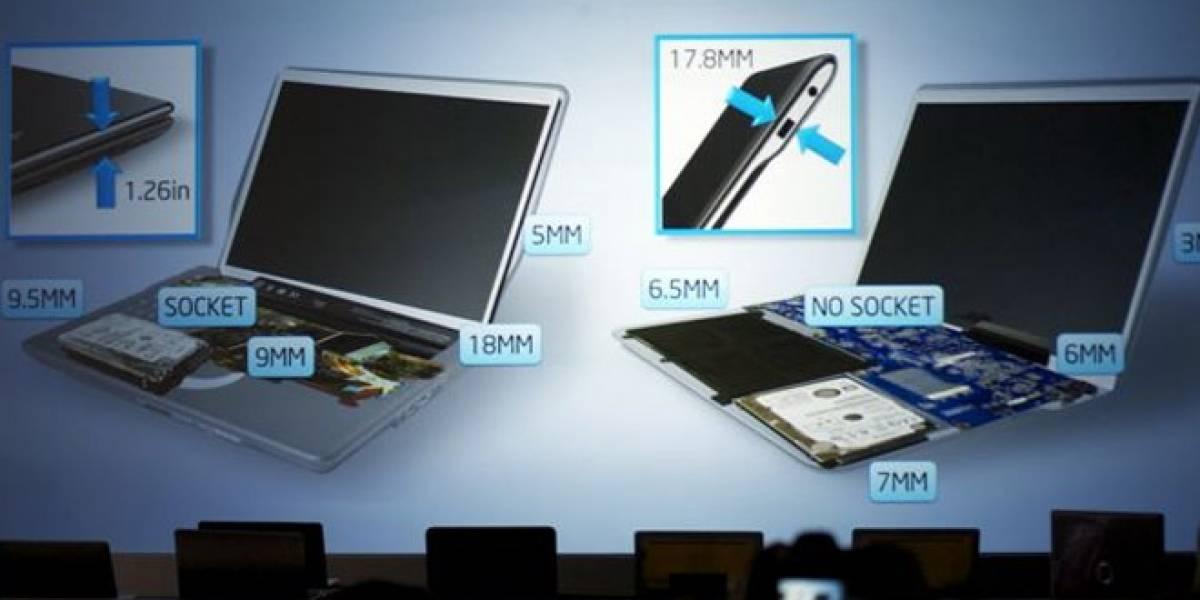 CES 2012: Para Intel, una futura Macbook Air podría ser 66% más delgada