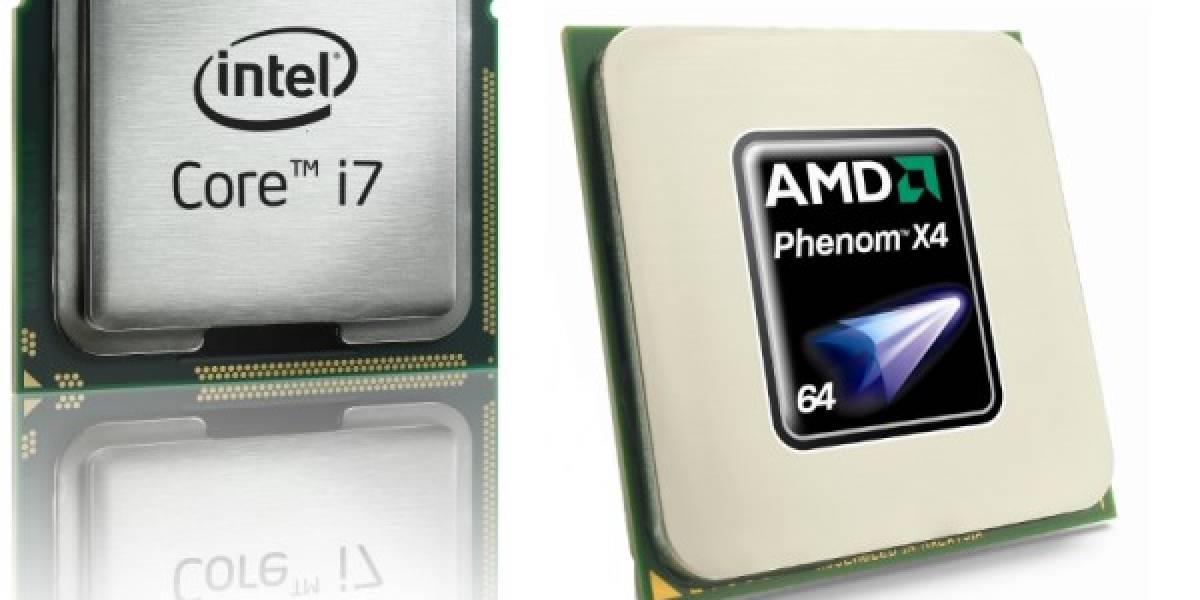 Intel amenaza a AMD