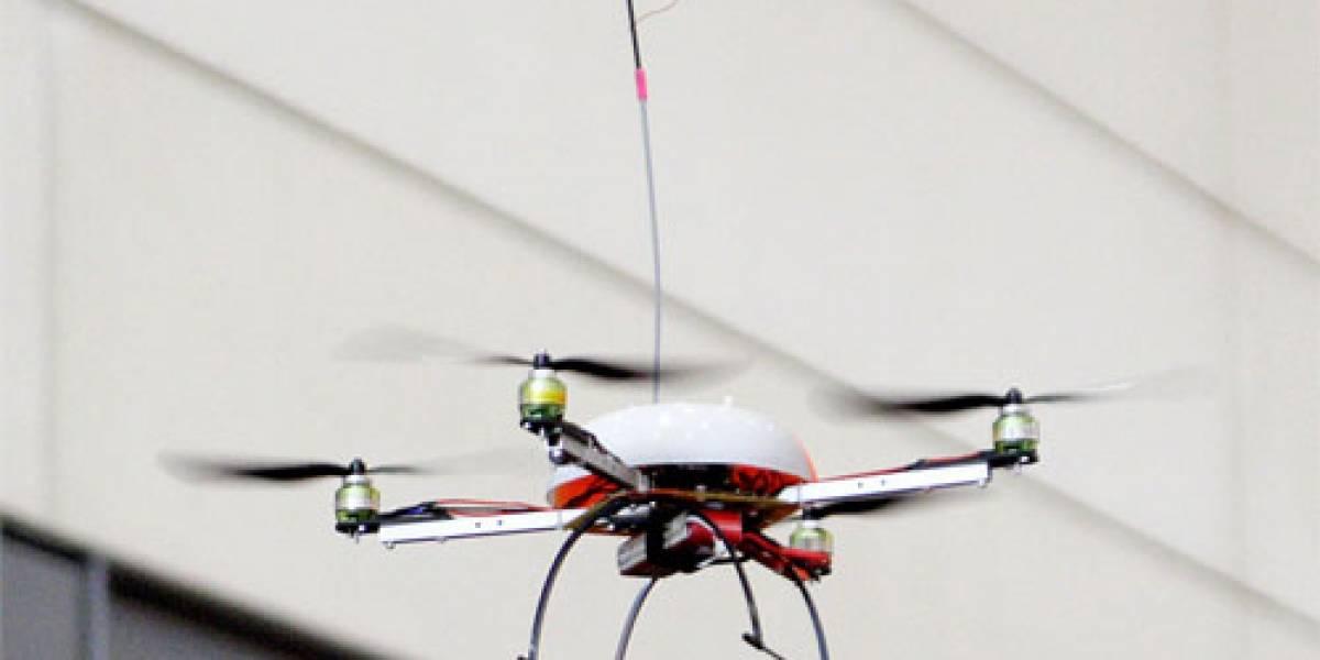 Científicos desarrollan robots WiFi voladores para emergencias