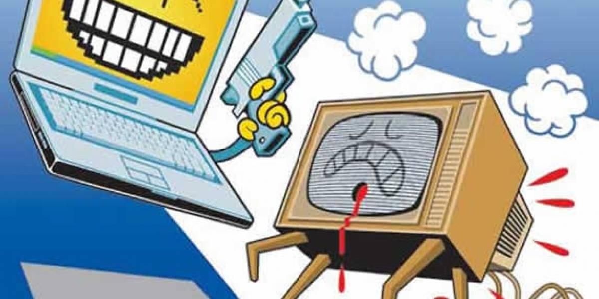 Internet se encamina a destronar a la TV como principal medio de información