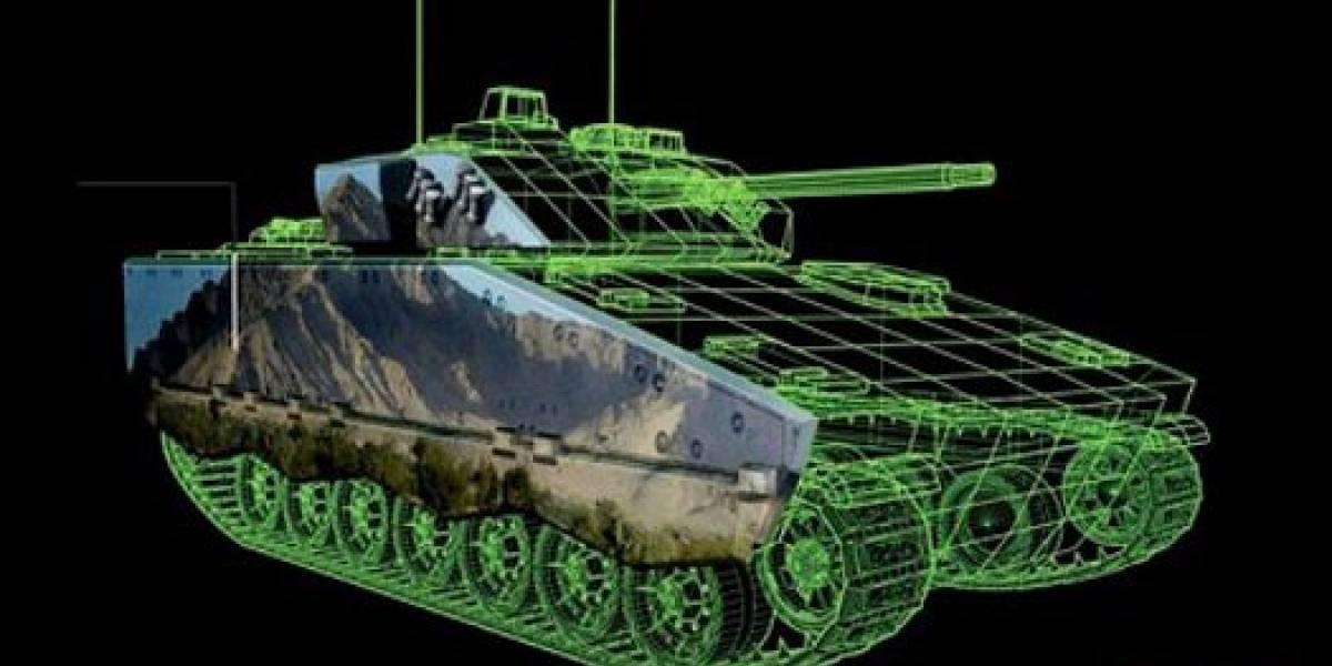 BAE trabaja en camuflaje de tanques con tinta electrónica