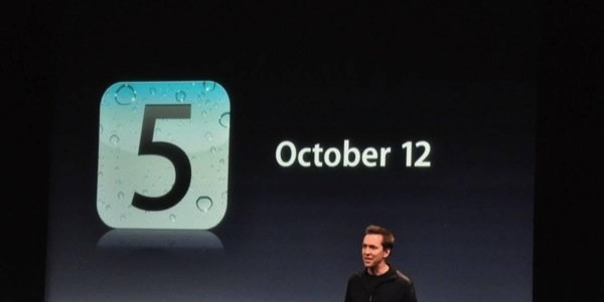 ¡iOS 5 ya está disponible para que actualices!