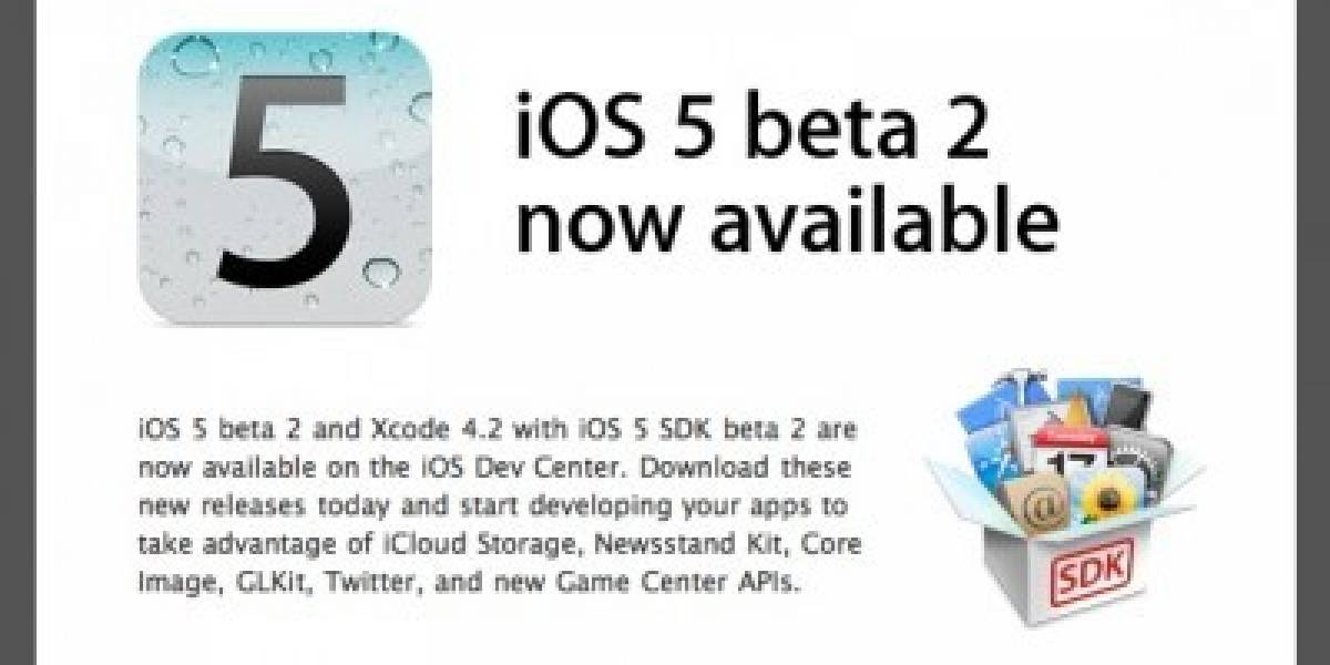 iPad con iOS 5 beta 2 de un usuario inglés se sobrecalienta