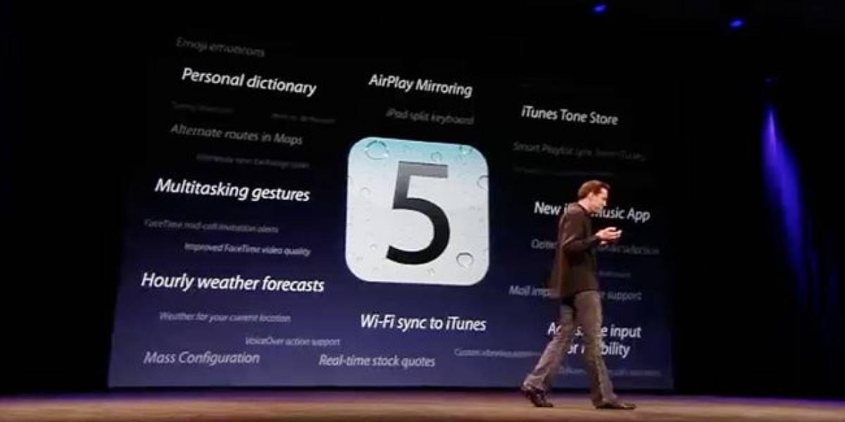 Apple libera el Beta 3 de iOS 5: Velocidad, accesibilidad y otros pequeños detalles