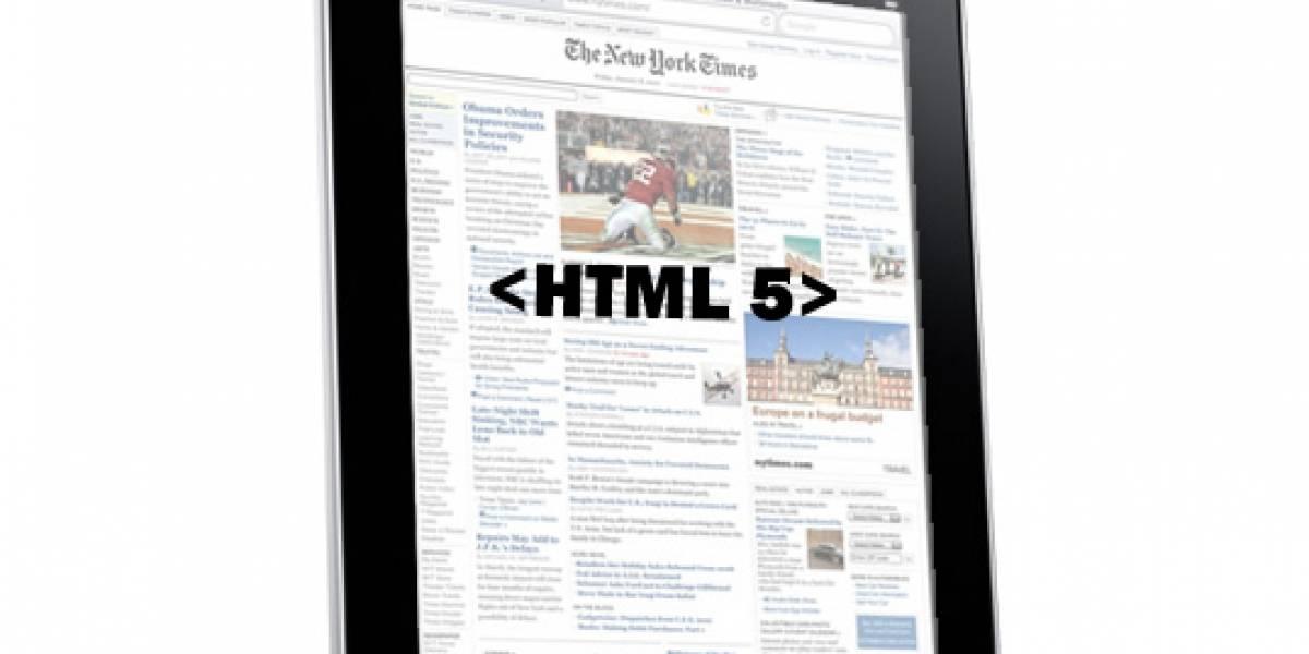 El iPad impulsa la adopción de HTML5 en internet