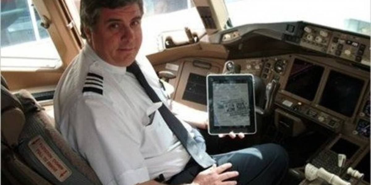 United Continental entrega a todos sus pilotos iPads para que los utilicen en cabina
