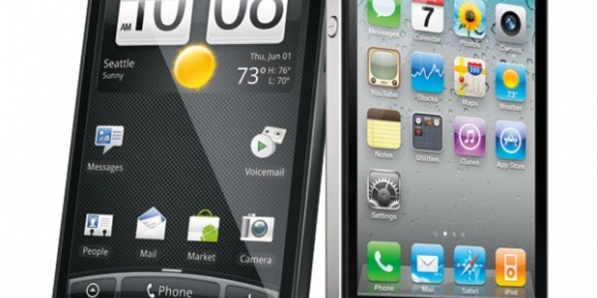 HTC se acerca a Apple en satisfacción de los usuarios de smartphones