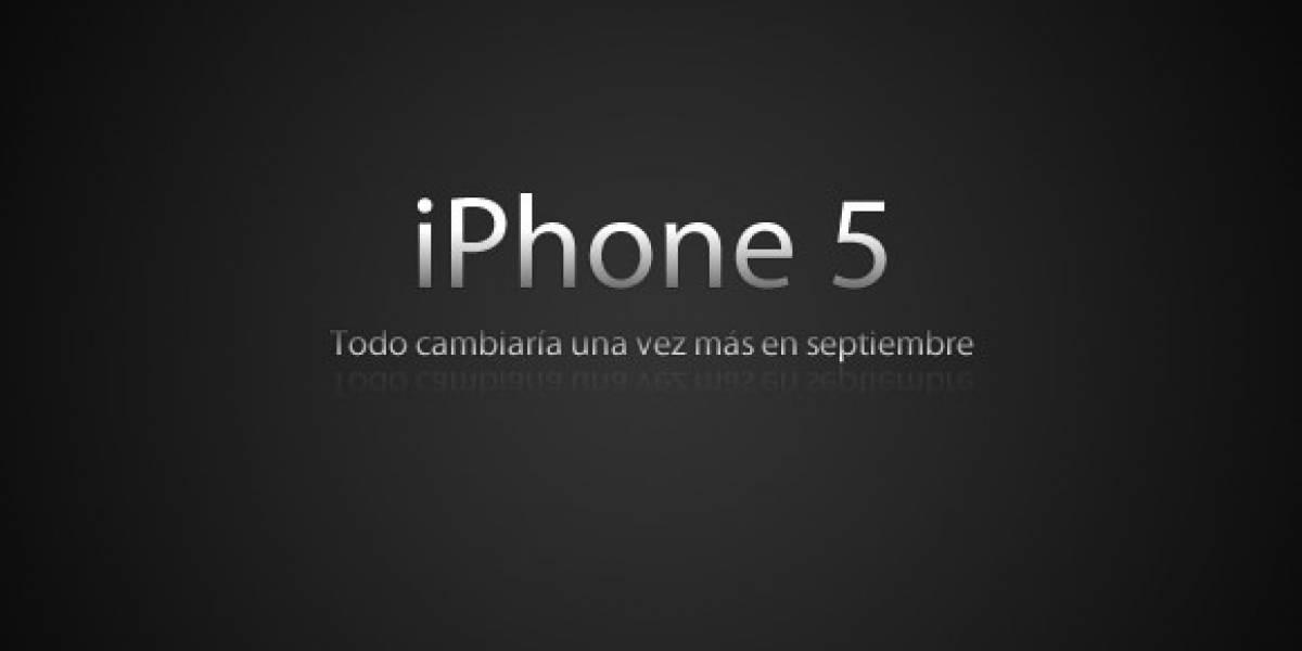 iPhone 5 sería lanzado la segunda semana de septiembre