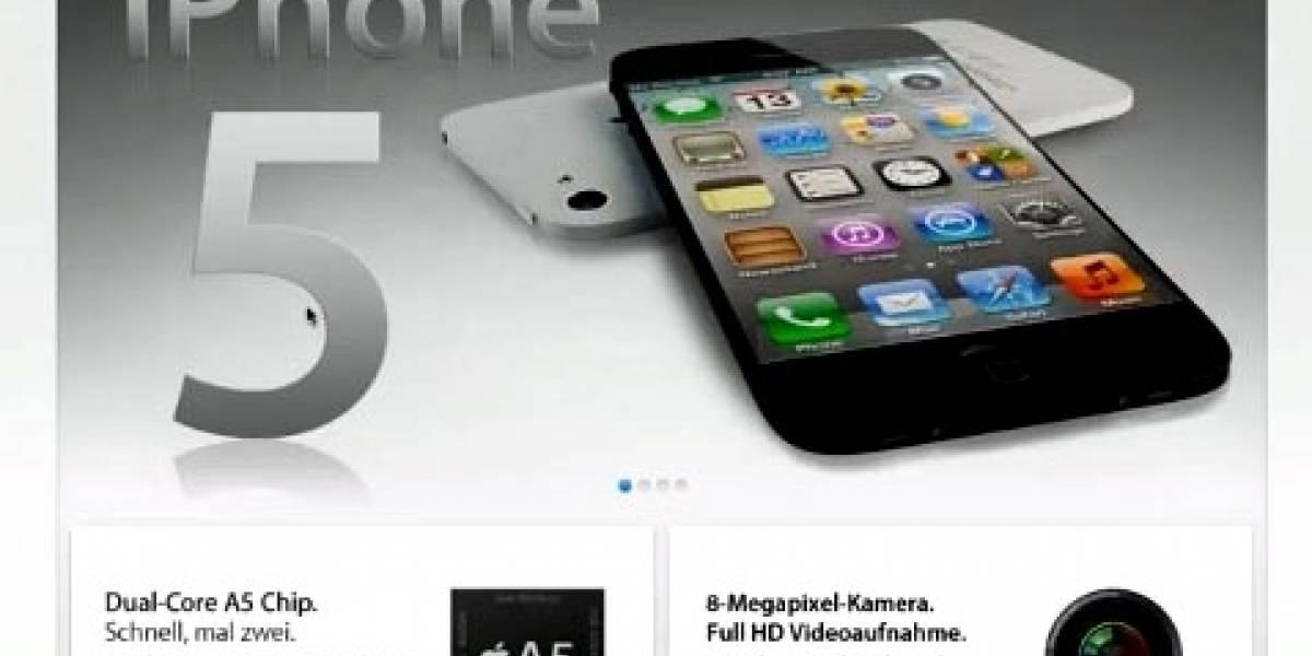 Se filtra video del iPhone 5, pero es falso
