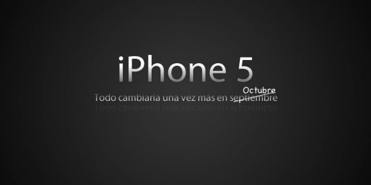 Comienzan los contra-rumores: iPhone 5 para octubre