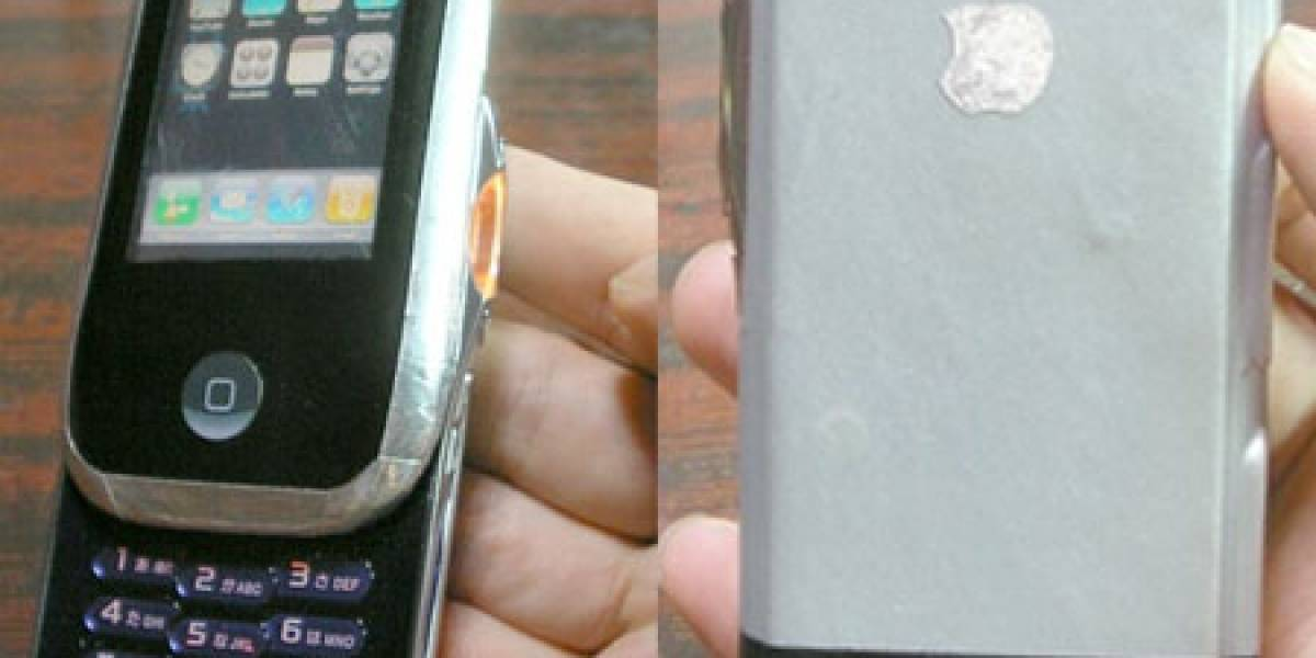 Impresentable: iPhone Sony Ericsson hecho en casa
