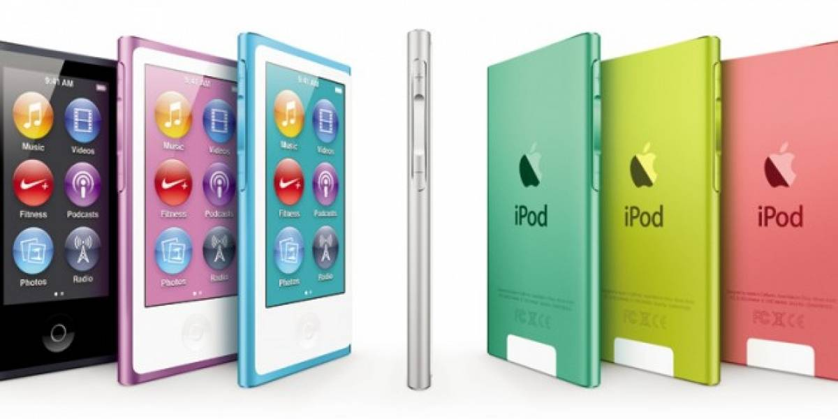 Apple estrena nuevos iPod junto al lanzamiento del iPhone 5