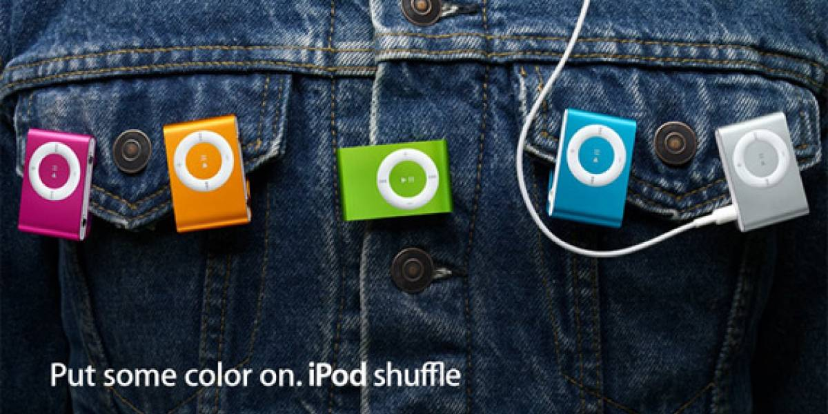 iPod Shuffles de colores