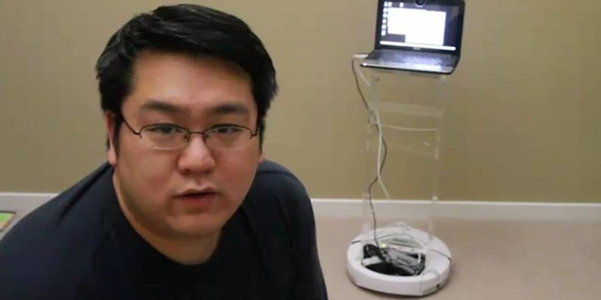 Cómo hacer un robot de telepresencia por US$ 500
