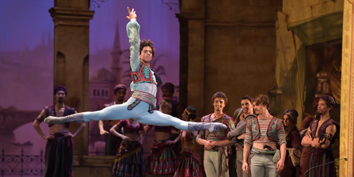 Isaac Hernández nominado a los Benois de la Danse en Rusia