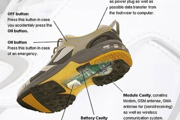 46730e86 Zapatos con GPS que se cargan caminando