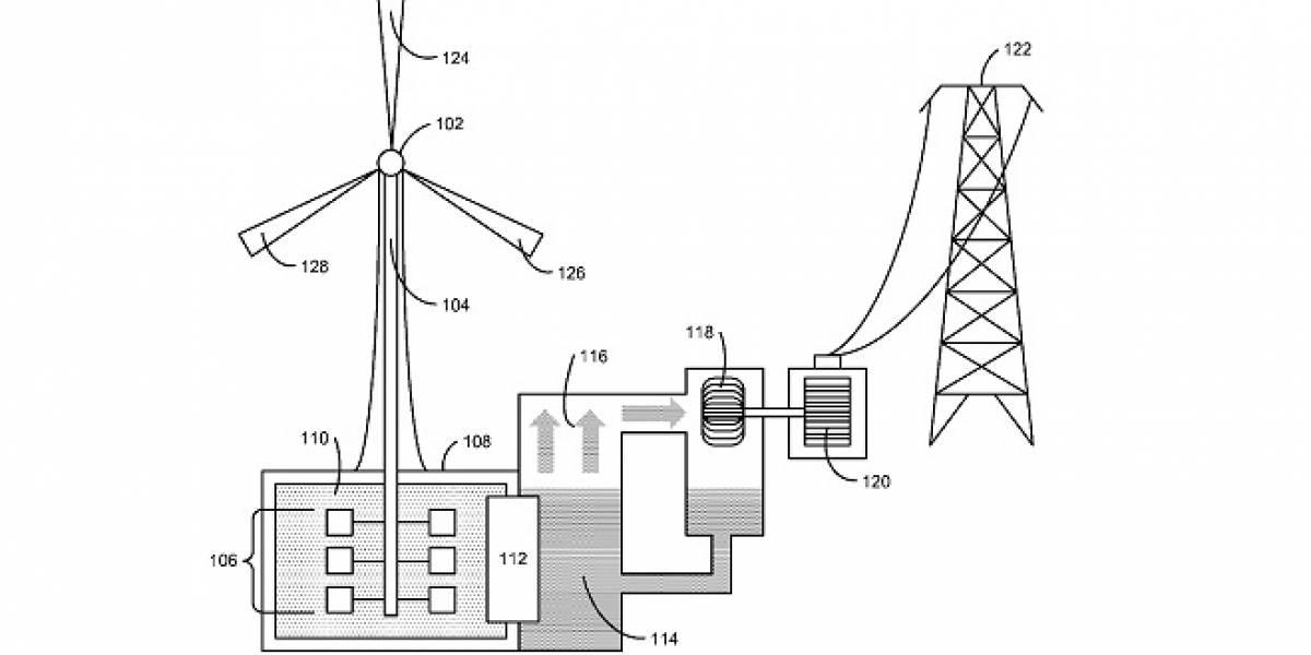 Apple presenta solicitud de patente para una turbina de viento
