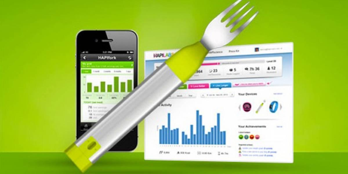 CES 2013: HAPIfork, el tenedor inteligente