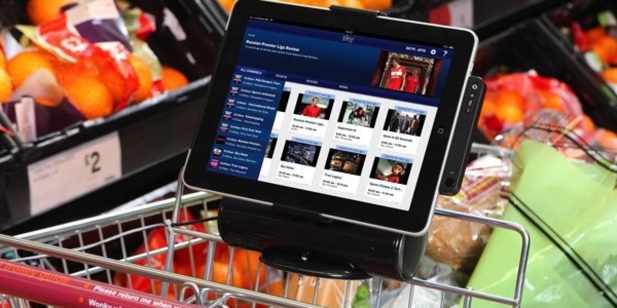 Supermercado británico integra iPads a sus carritos
