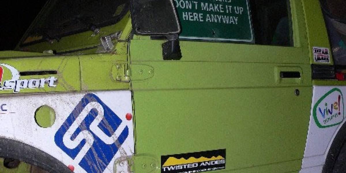 Chilenos logran Récord de Altitud en Auto