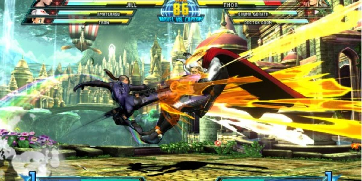 Así pelea Jill Valentine en Marvel vs. Capcom 3