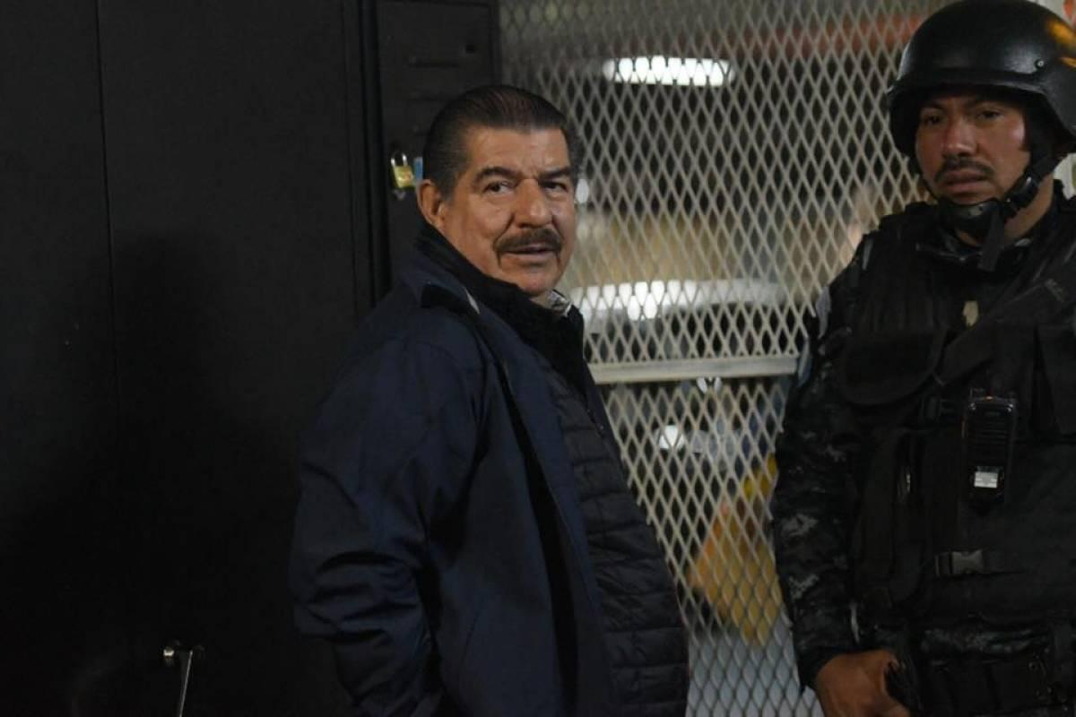 Jorge Mario Moran Sosa llega a Tribunales Foto: Omar Solís