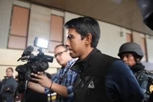 Marlon Estuardo Marroquín Silva llega a Tribunales
