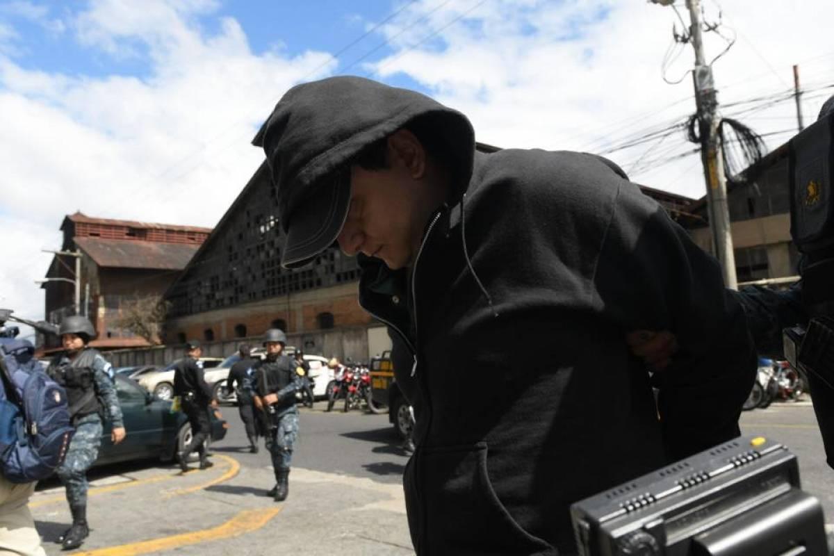 Jorge Luis Monterroso Leal es trasladado a Tribunales Foto: Omar Solís