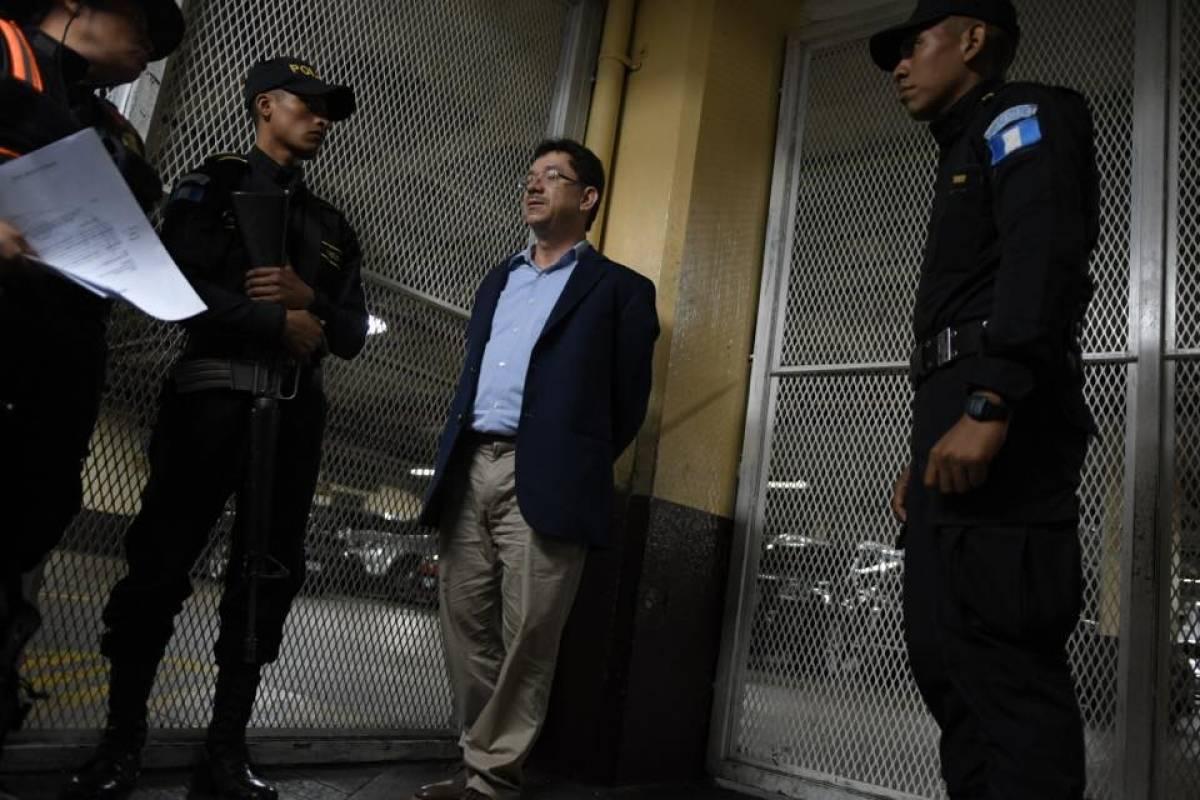 Jorge Dagoberto Arreola es trasladado a Tribunales Foto: Omar Solís