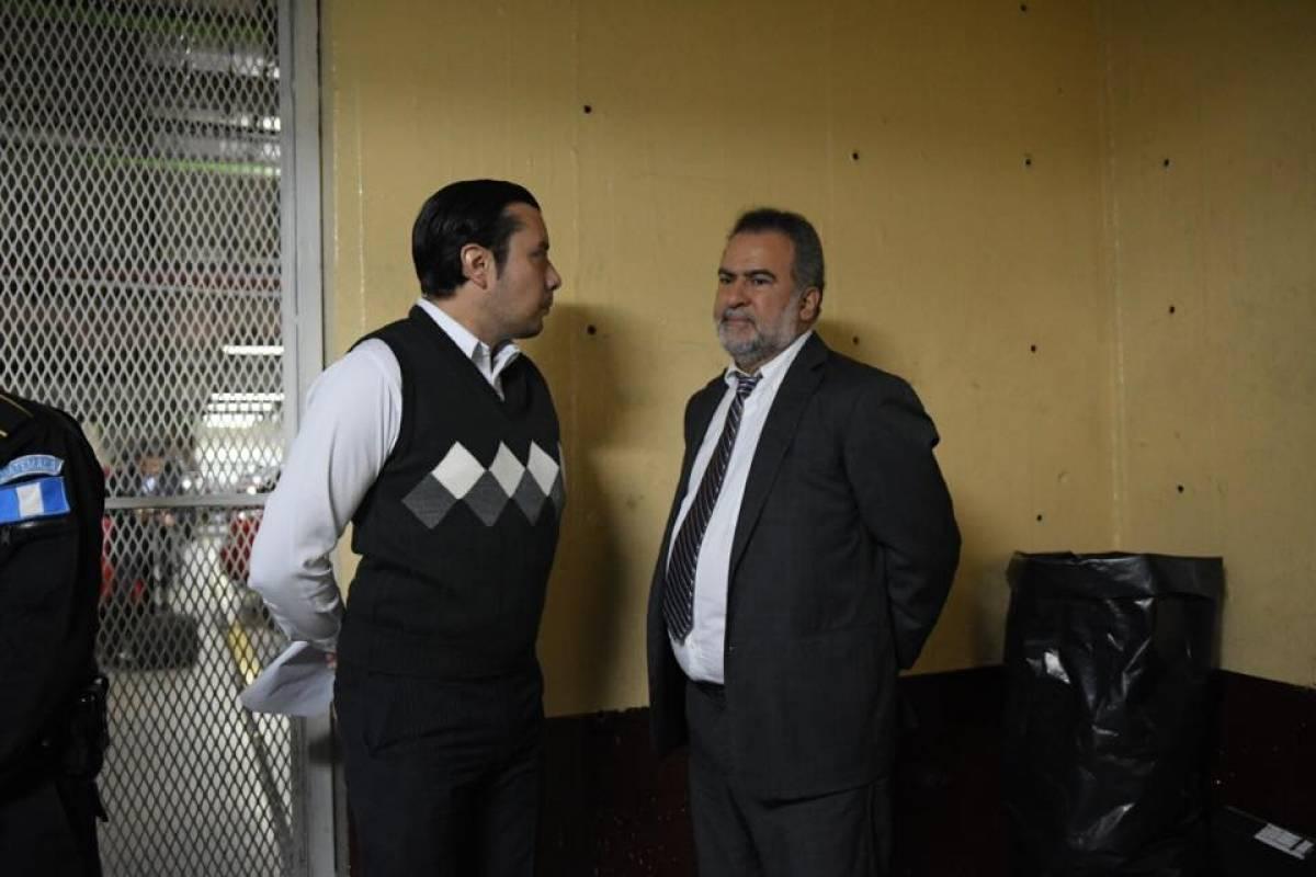 Inmgar Iten Rodríguez en Tribunales Foto: Omar Solís