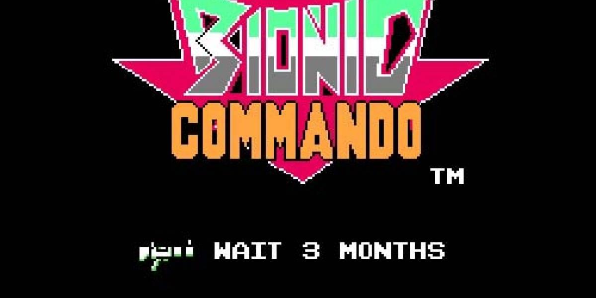 Bionic Commando en menos de 3 meses?