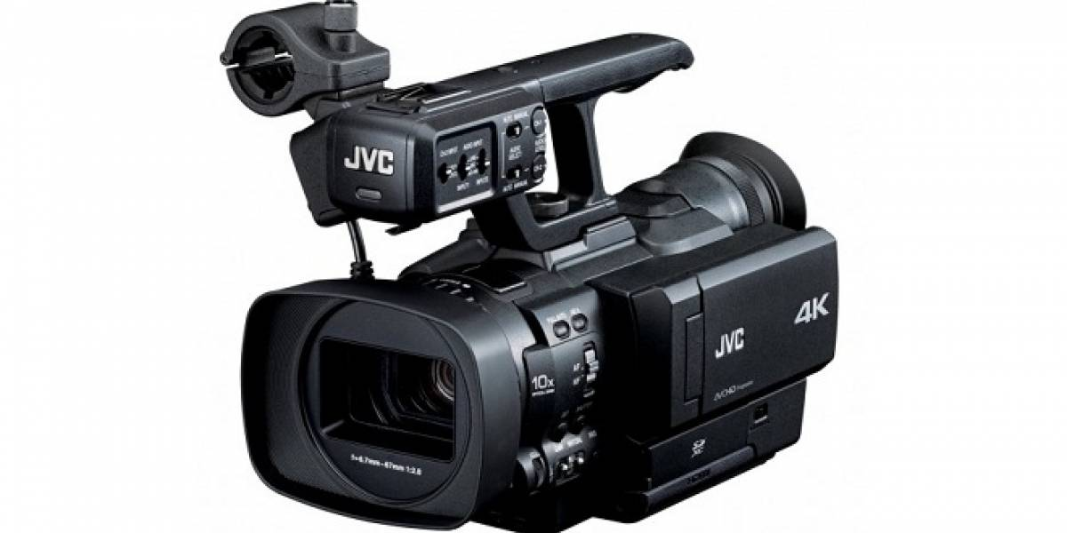 CES 2012: JVC lanza la primera videocámara de mano con resolución 4K