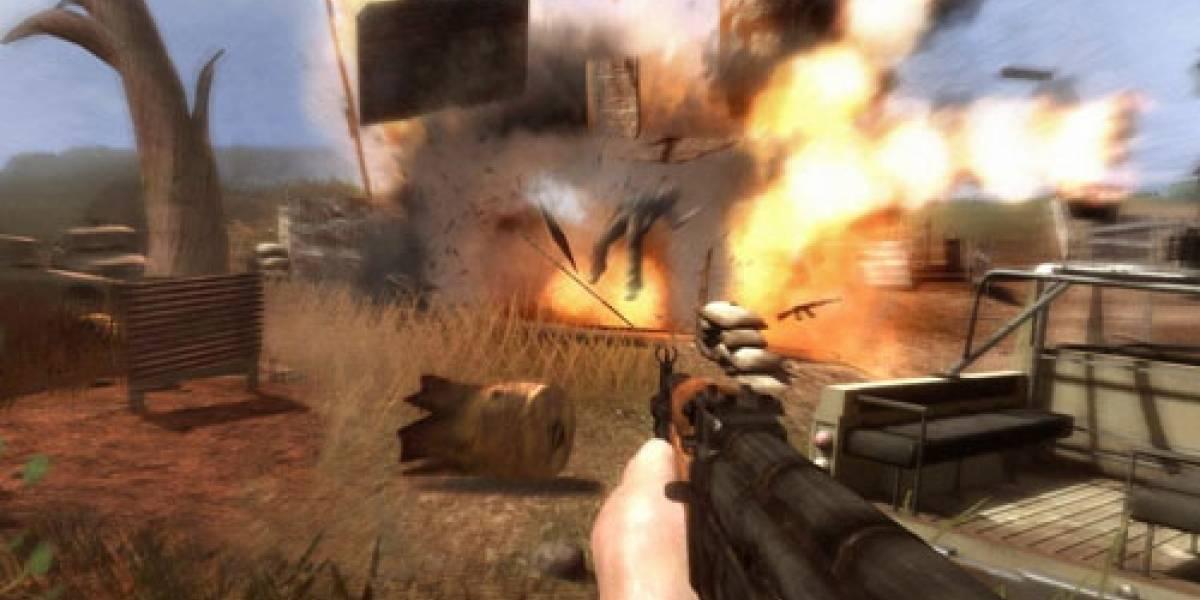 FarCry 2: Fuego real, DirectX 10 y Crysis Killer.