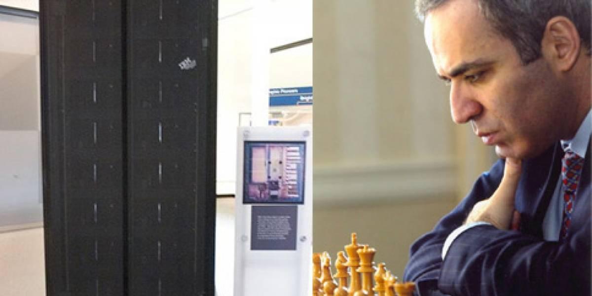 Hace 15 años, una computadora le ganó al campeón de ajedrez