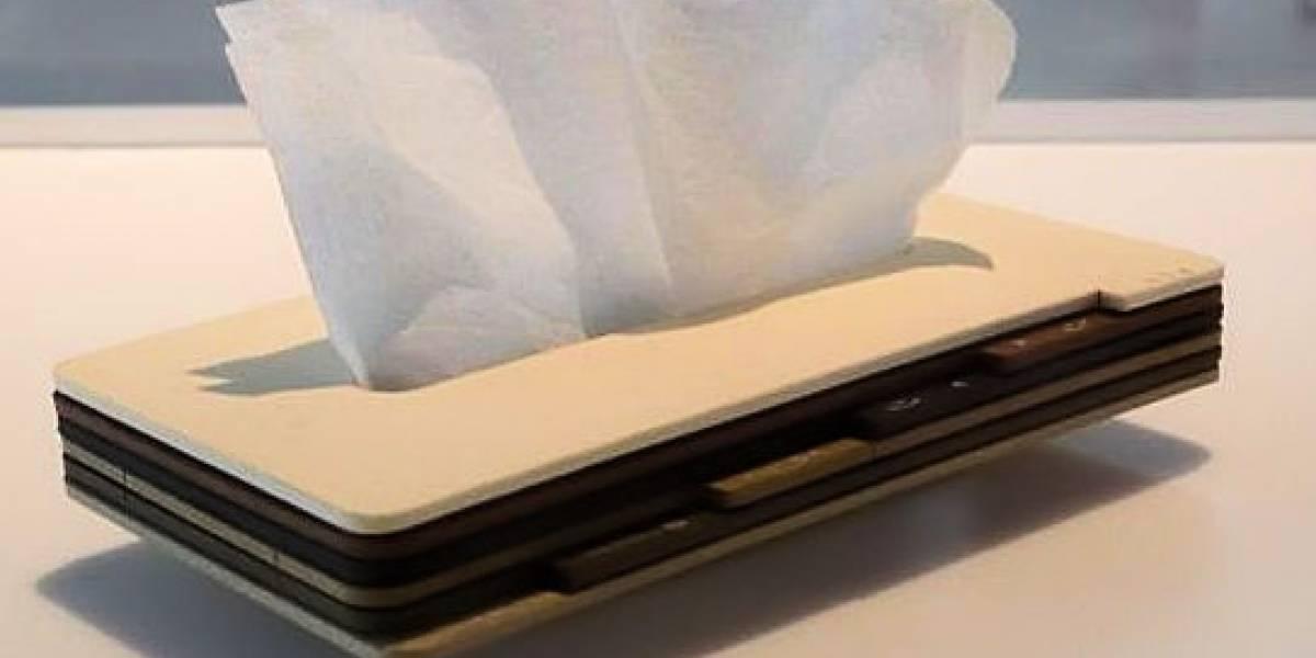 KDDI presenta un móvil conceptual MUY extraño y con estilo