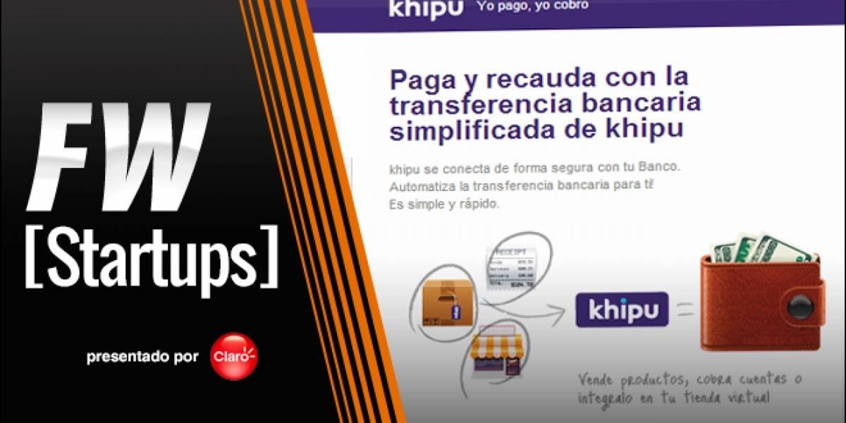 Khipu: Una nueva forma de pagar con tu cuenta bancaria [FW Startups]